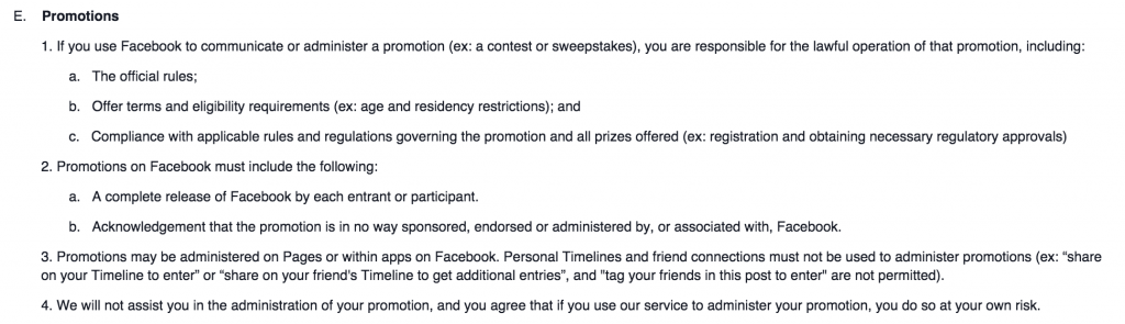 facebook-competition-rules